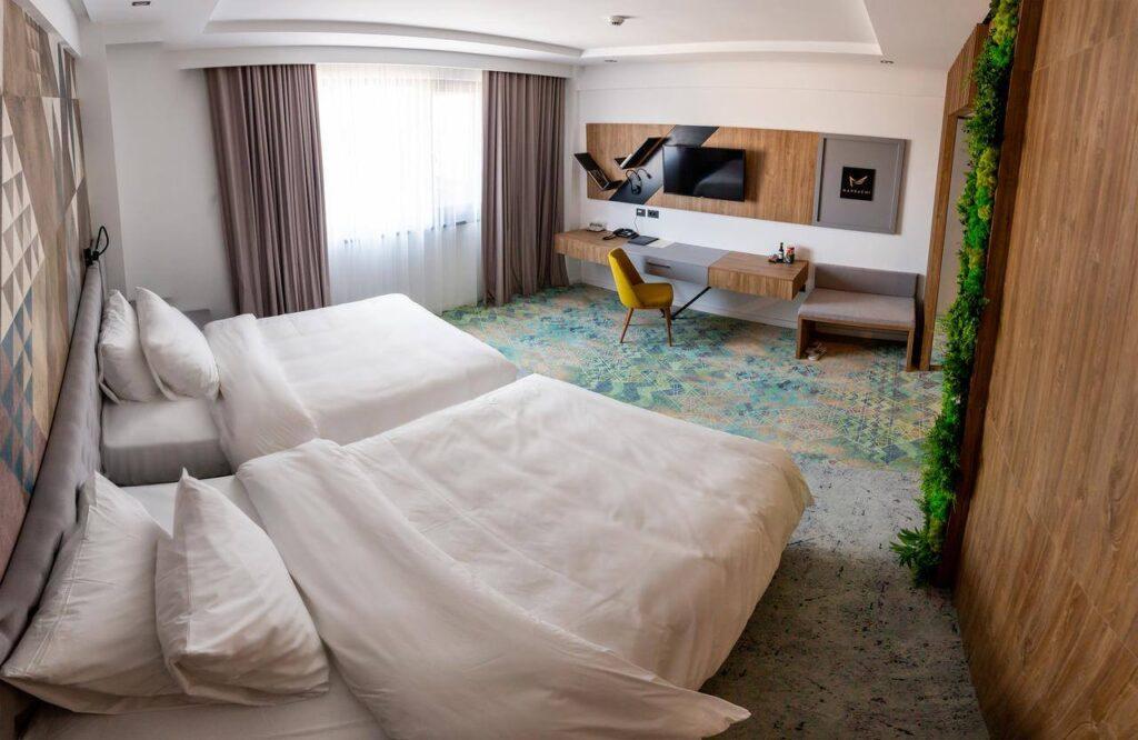 Capacitatea de cazare în România